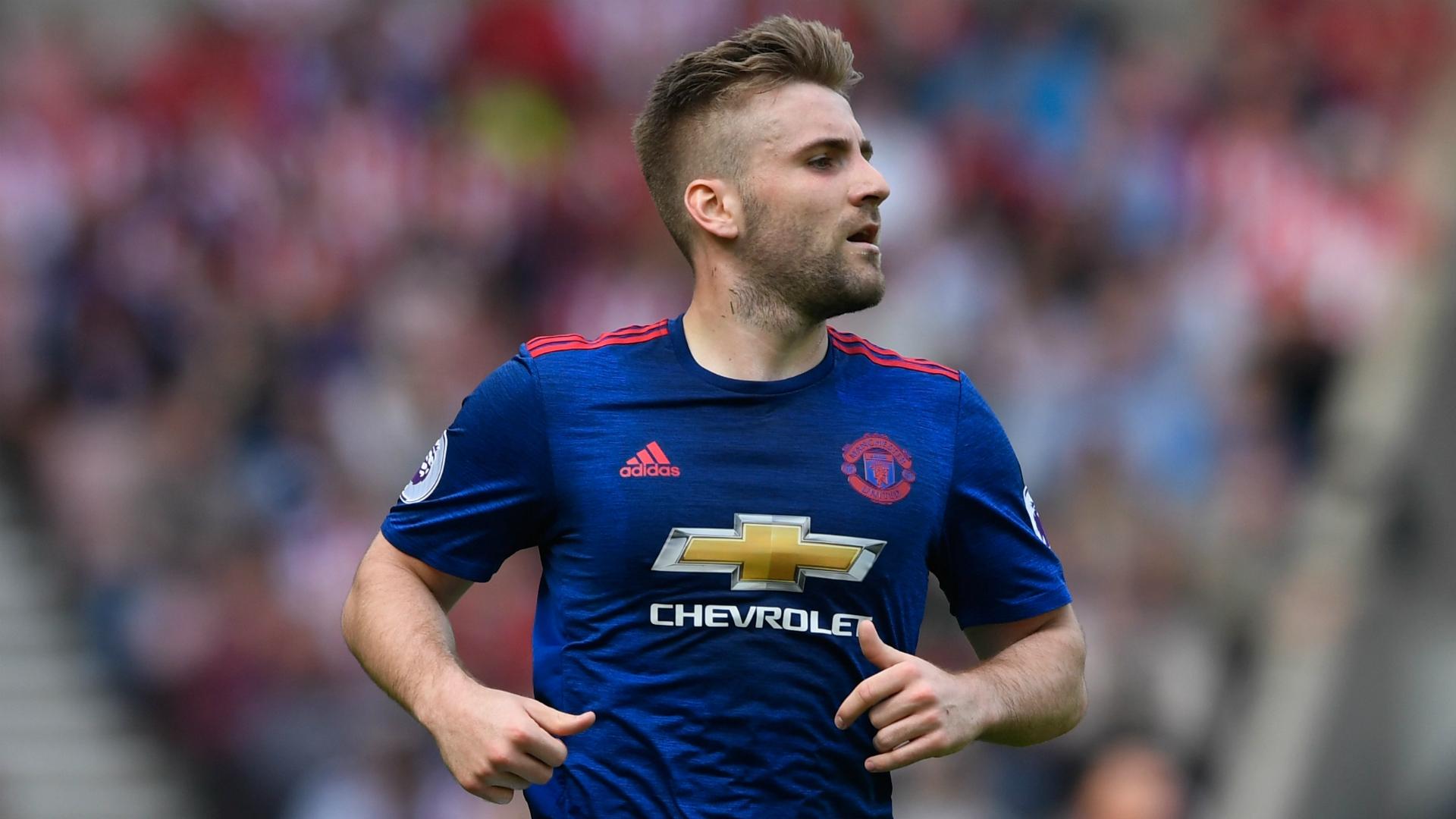 Luke Shaw Manchester United Sunderland 09042017