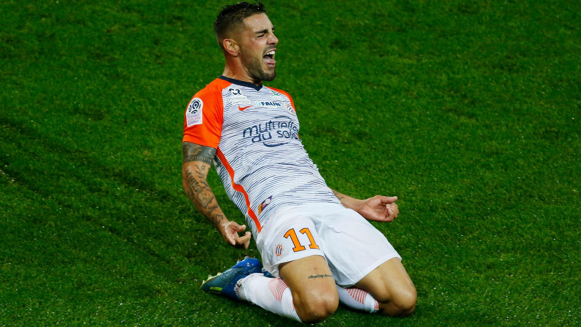 Montpellier striker Andy Delort replaces Haris Belkebla in Algeria's Afcon squad