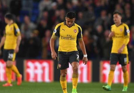 Alexis sufrió ante Crystal Palace