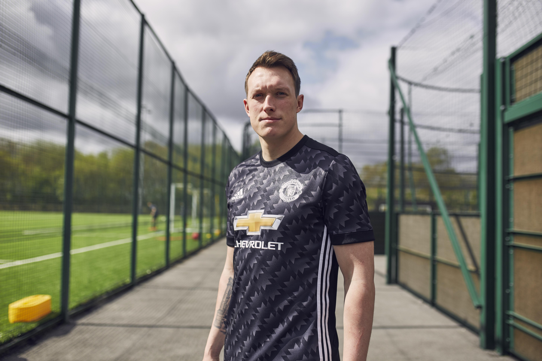 Phil Jones Manchester United Away Kit 2017-18