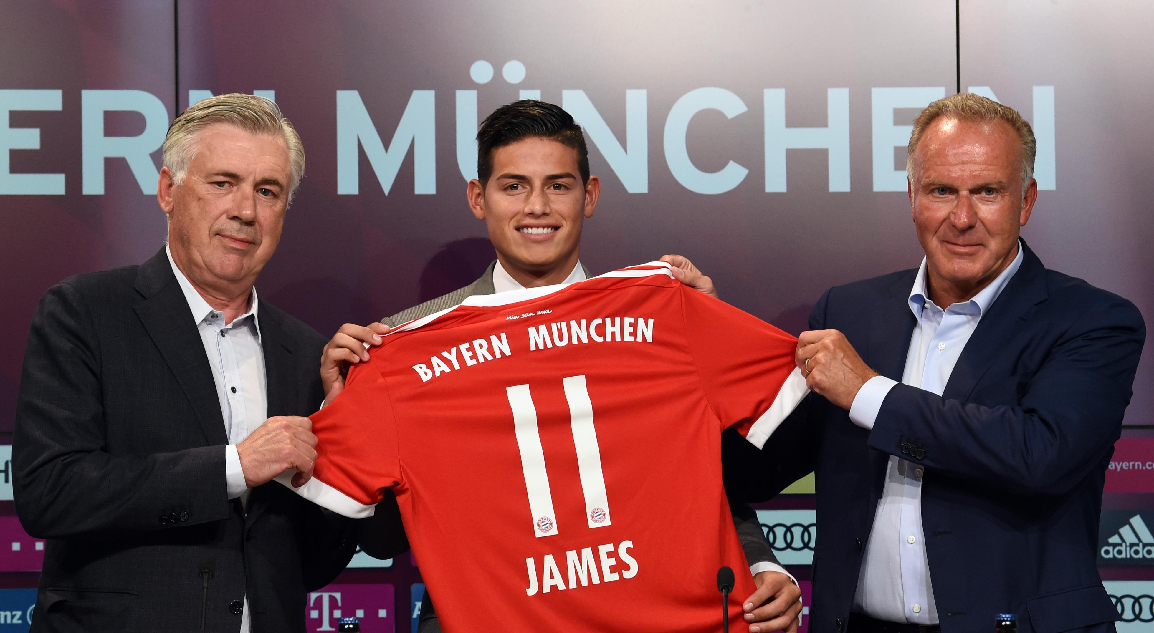 El Bayern de Múnich ficha a James Rodríguez