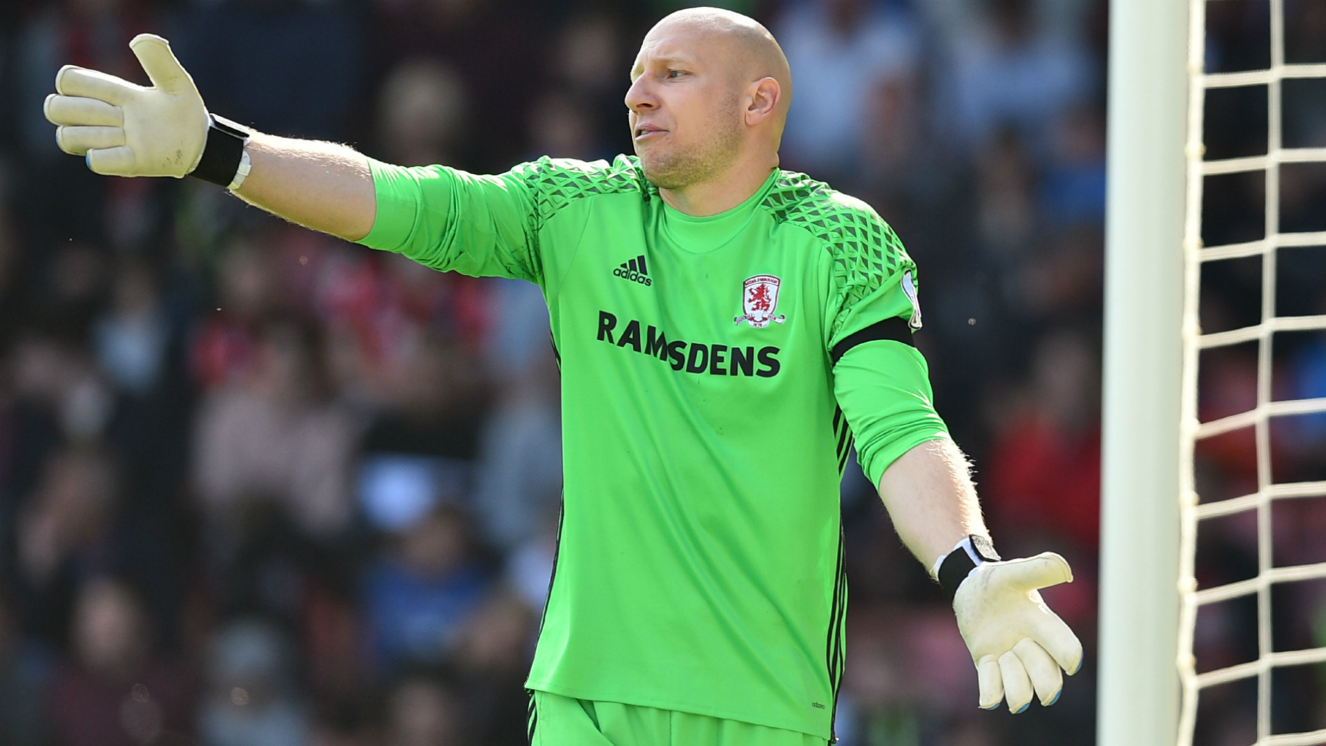 Brad Guzan Middlesbrough Premier League