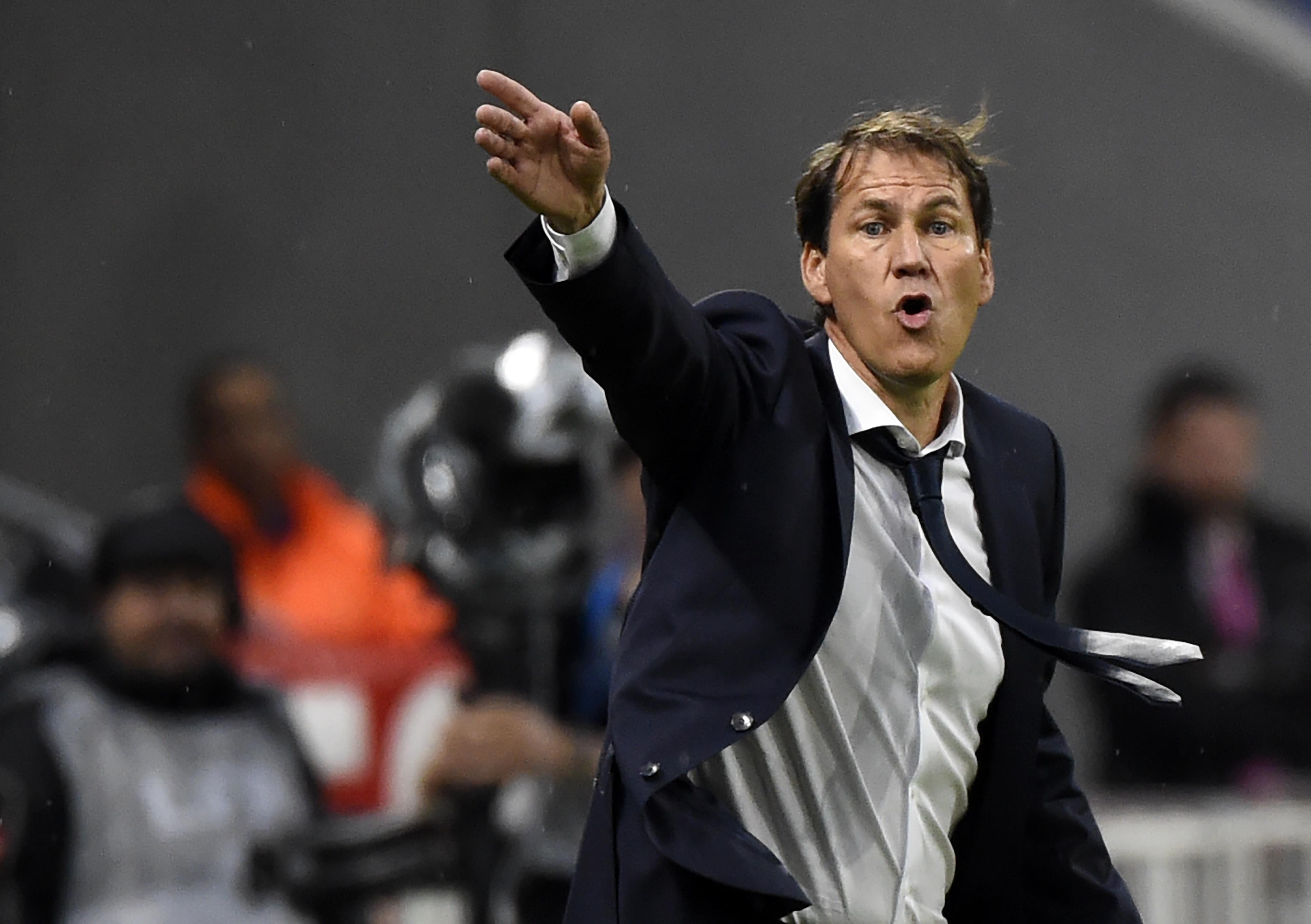 Lyon, Rudi Garcia satisfait du match de ses hommes
