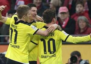 Borussia Dortmund schaffte 2013 zwar nicht die Meisterschaftschafts-Verteidigung, dennoch war es eine starke Saison des BVB samt CL-Finale. Goal zeigt Euch das legendäre Team und die dazugehörigen Werte von FIFA 13.