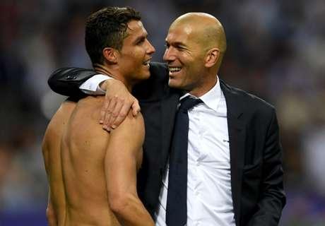 Zidane dismisses Ronaldo exit talk
