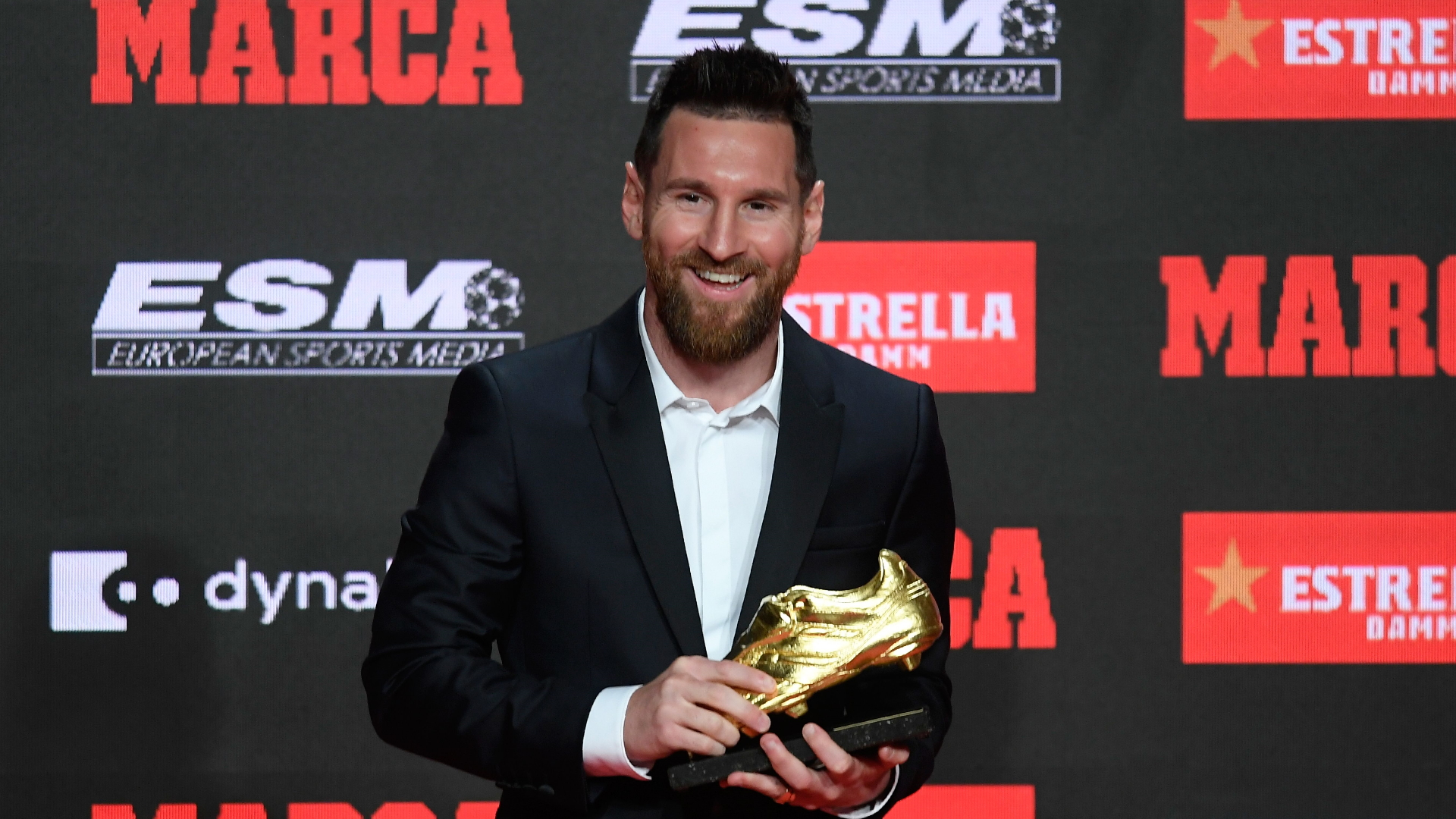 Video: Messi's sixth Golden Boot in numbers