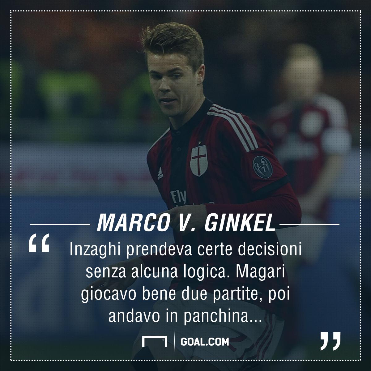 Serie A, Van Ginkel: