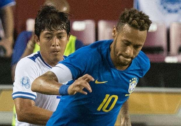 Brazil put five past El Salvador