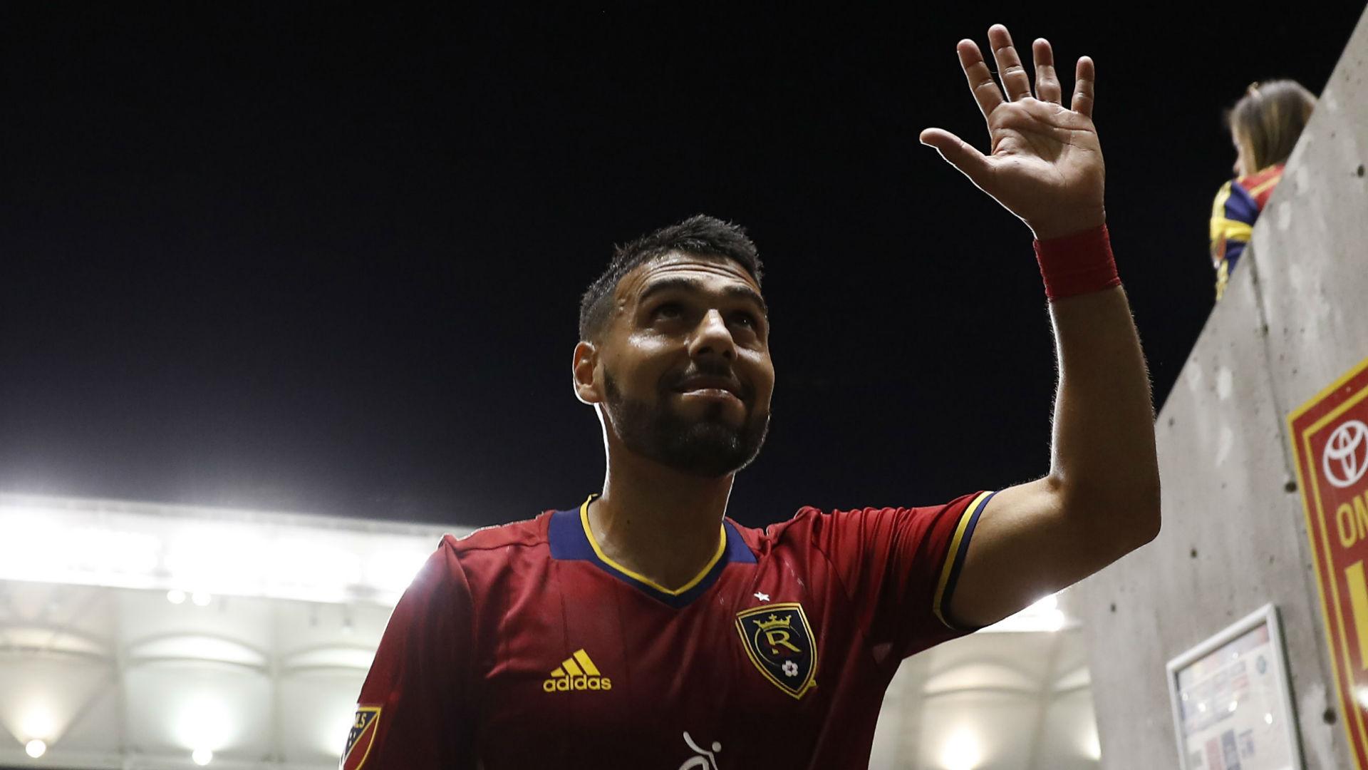 Javier Morales Real Salt Lake MLS 090716