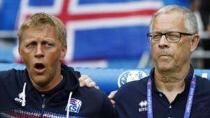 Heimir Hallgrimsson & Lars Lagerback
