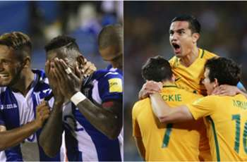 Australia and Honduras to battle for World Cup spot after dramatic night of qualifying