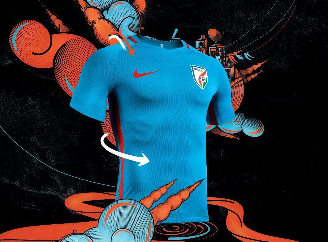 Nike India jersey