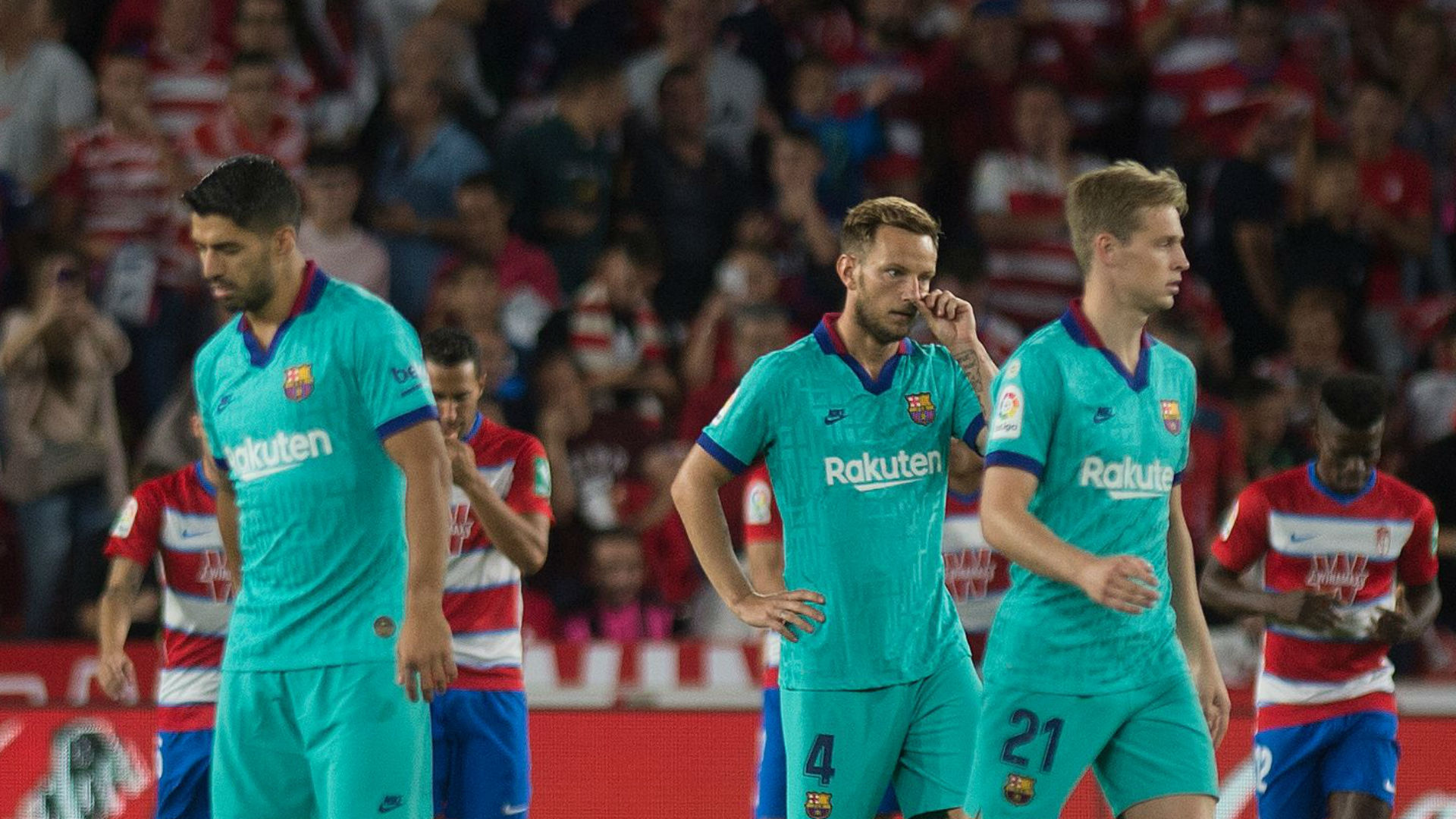 Granada's Ramon Azeez scores first goal of career against Barcelona