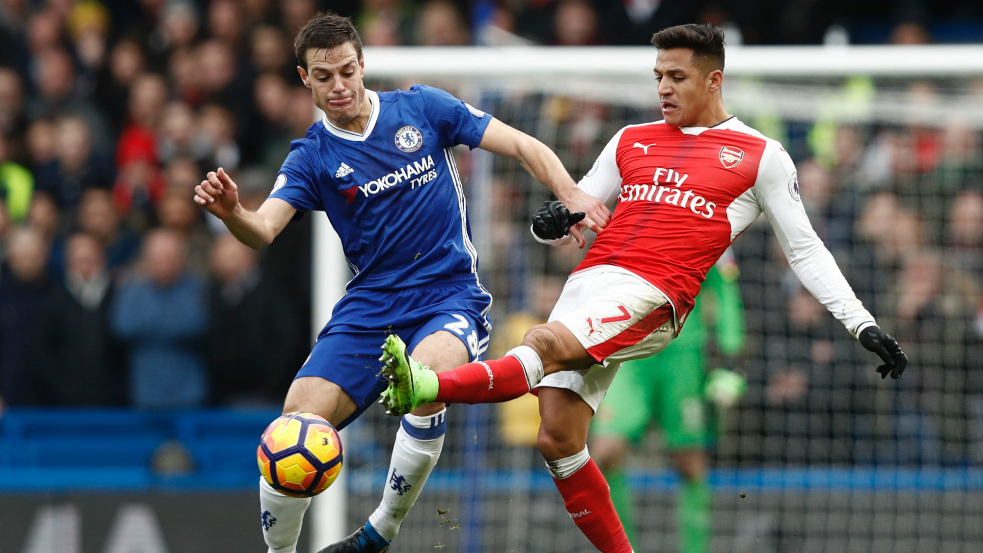 HD Azpilicueta Alexis Chelsea Arsenal