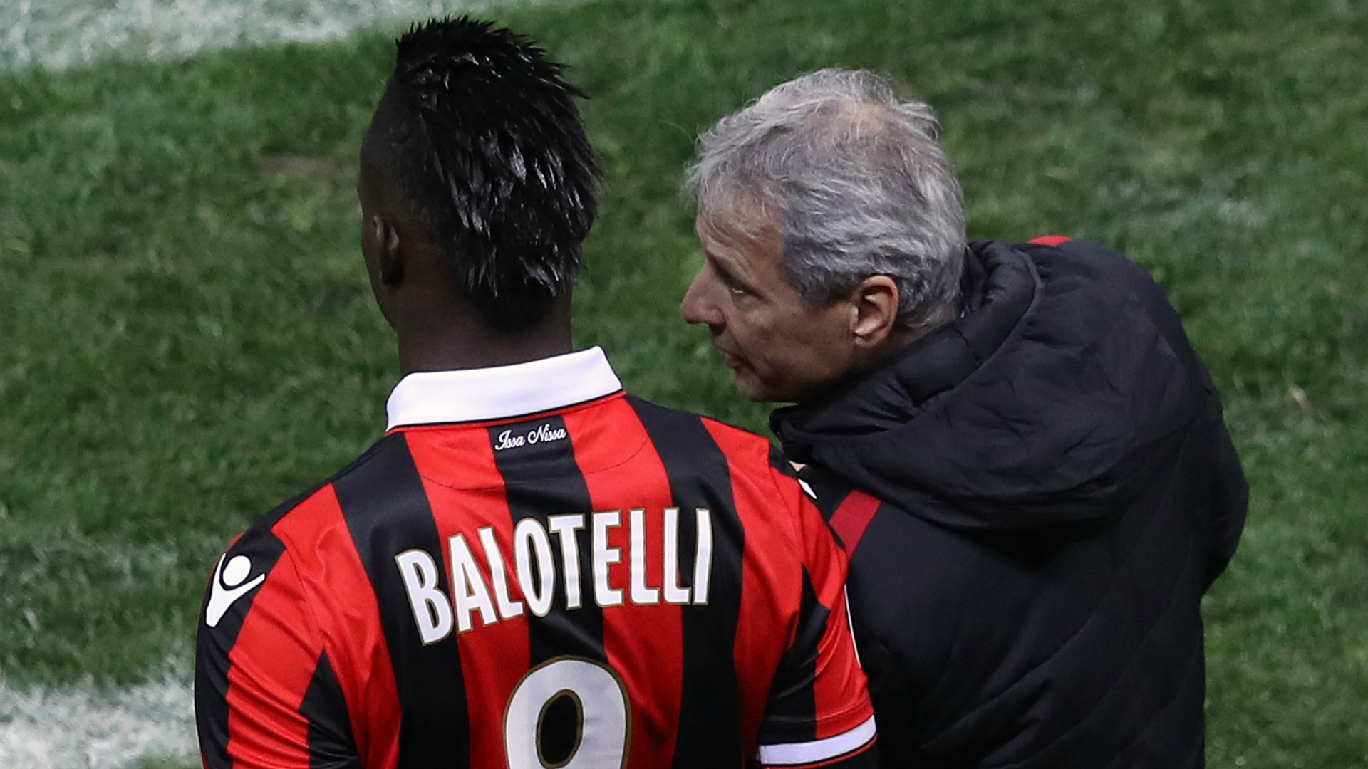 Mario Balotelli Lucien Favre Nice Saint-Etienne Ligue 1 02082017