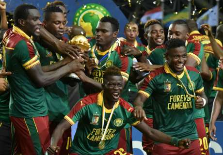 Cameroon fly up FIFA ranking