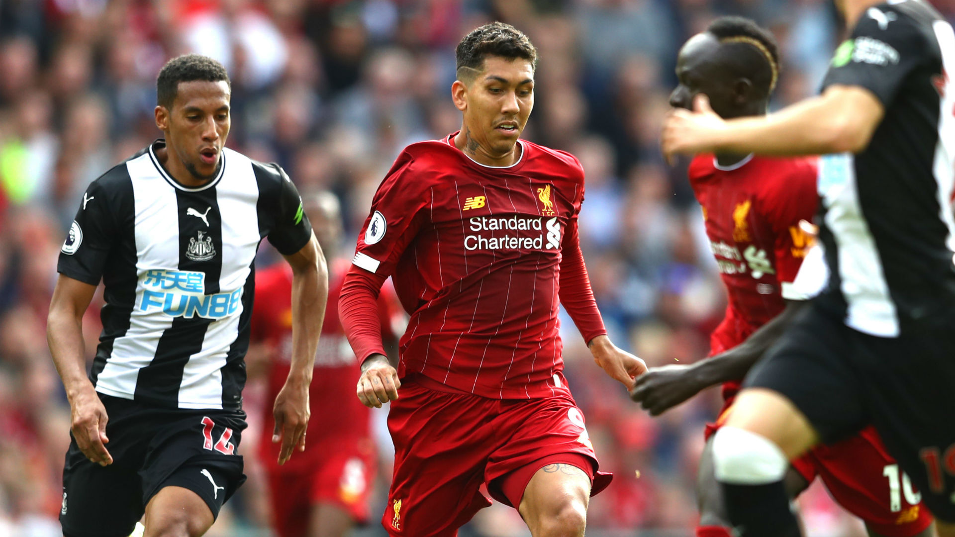 Van Dijk: Firmino a nightmare for any defender and I'm glad he's on my team!