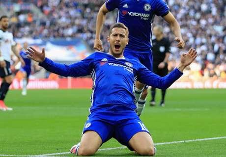 Hazard Jadi Pemain Terbaik Chelsea Musim Ini