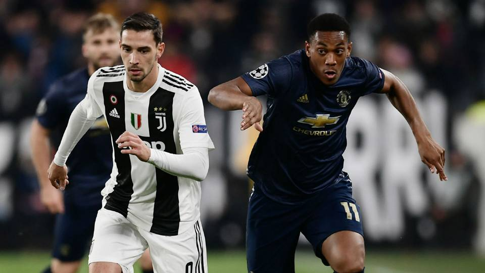 Anthony Martial Manchester United Juventus 071118