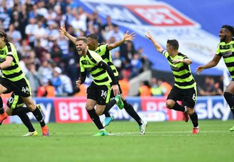 WATCH: Huddersfield's celebrations