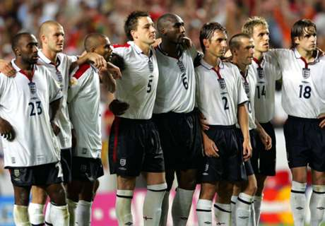 England's 'Golden Generation' fading