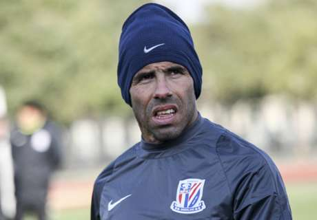 Tevez: 'I'm a phenomenon in Shanghai'