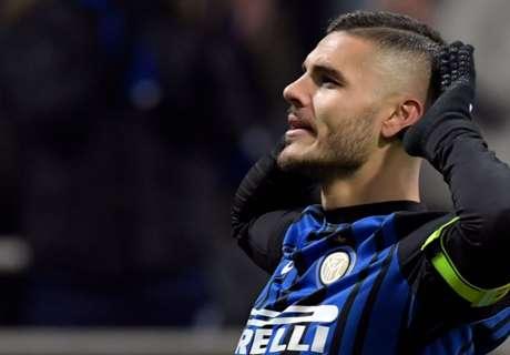 Inter-Atalanta 2-0, Icardi voit double