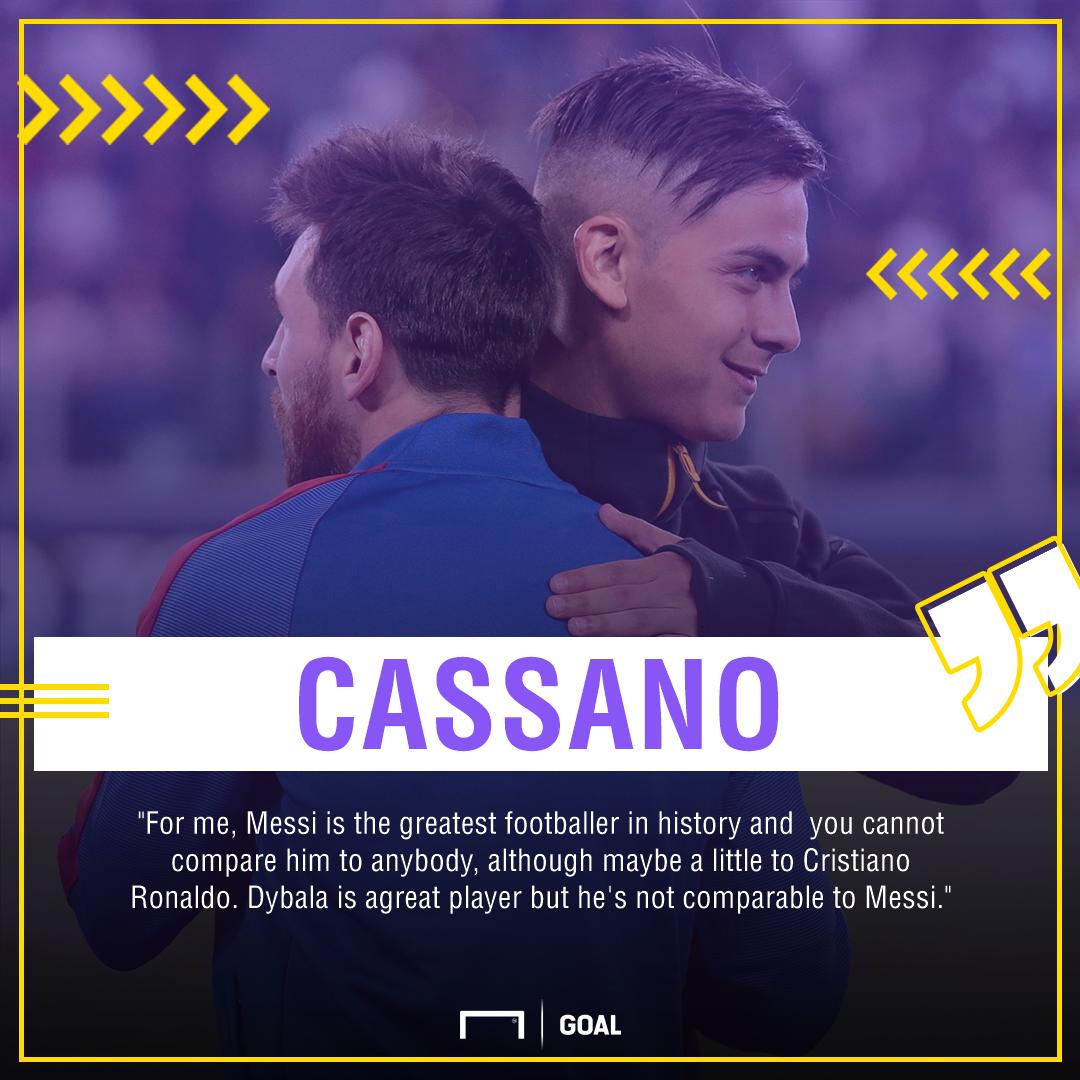 Cassano Dybala Messi PS