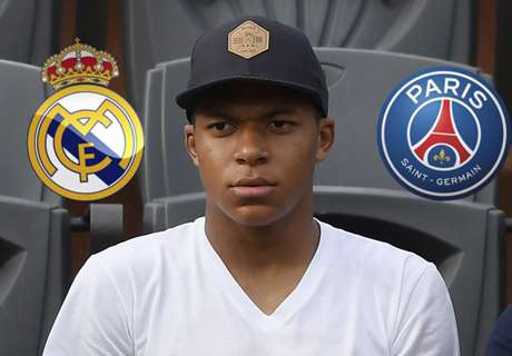 Mbappe caught in Real & PSG mind games