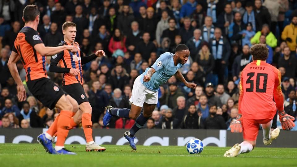 Raheem Sterling Manchester City 071118