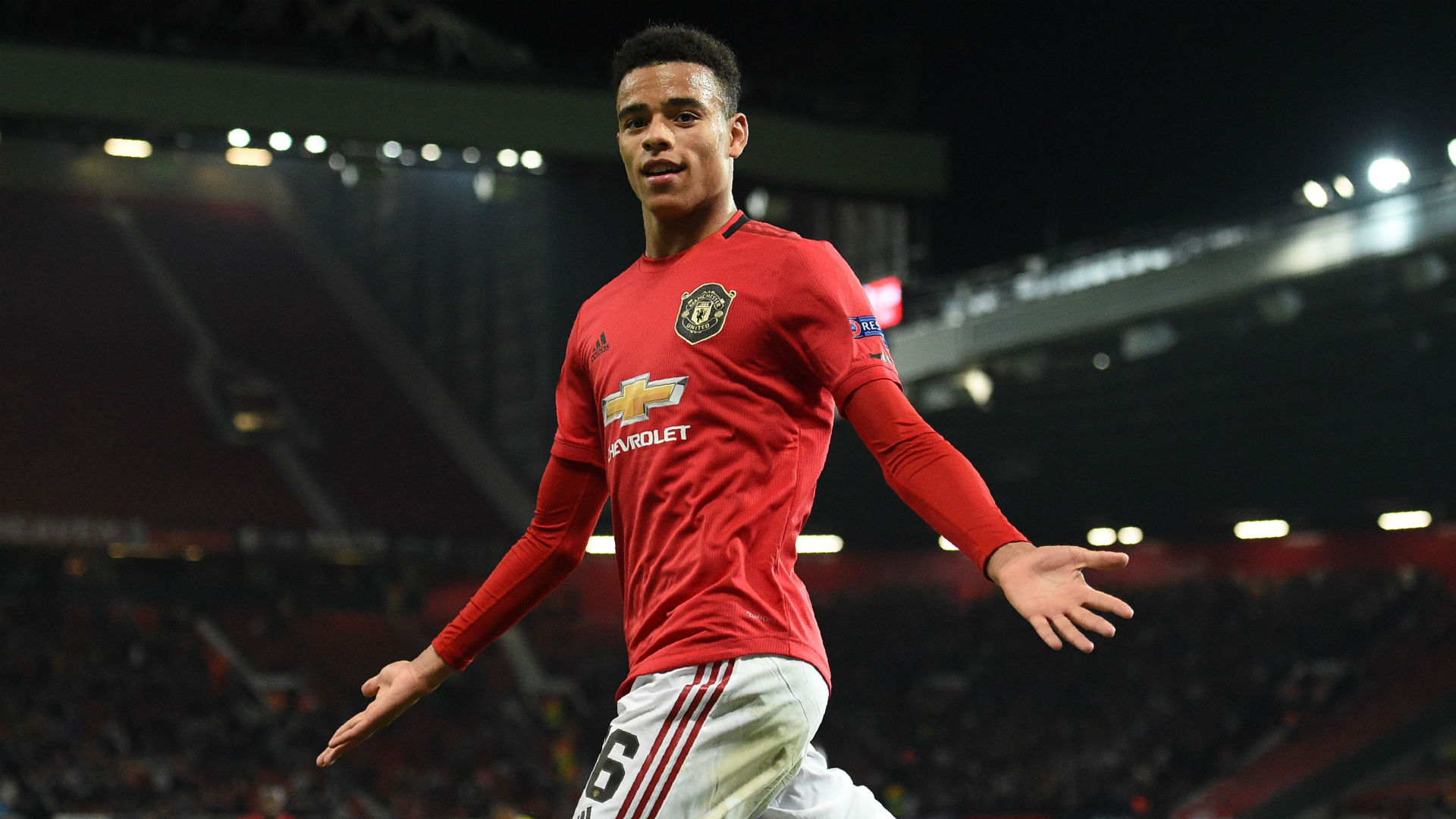 Mason Greenwood Manchester United Europa League 2019