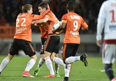 Dijon et Caen sauvent leur peau, Nancy et Bastia descendent