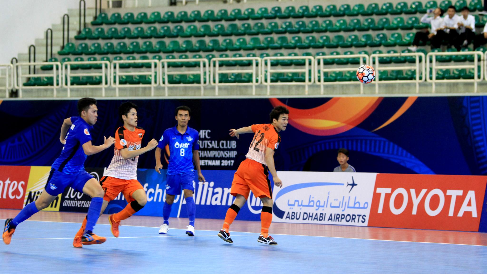 2017 AFC Futsal Club Championship   Blue Wave Chonburi vs Shriker Osaka
