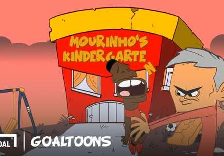 GOALTOONS Video: Mourinho's Kindergarten