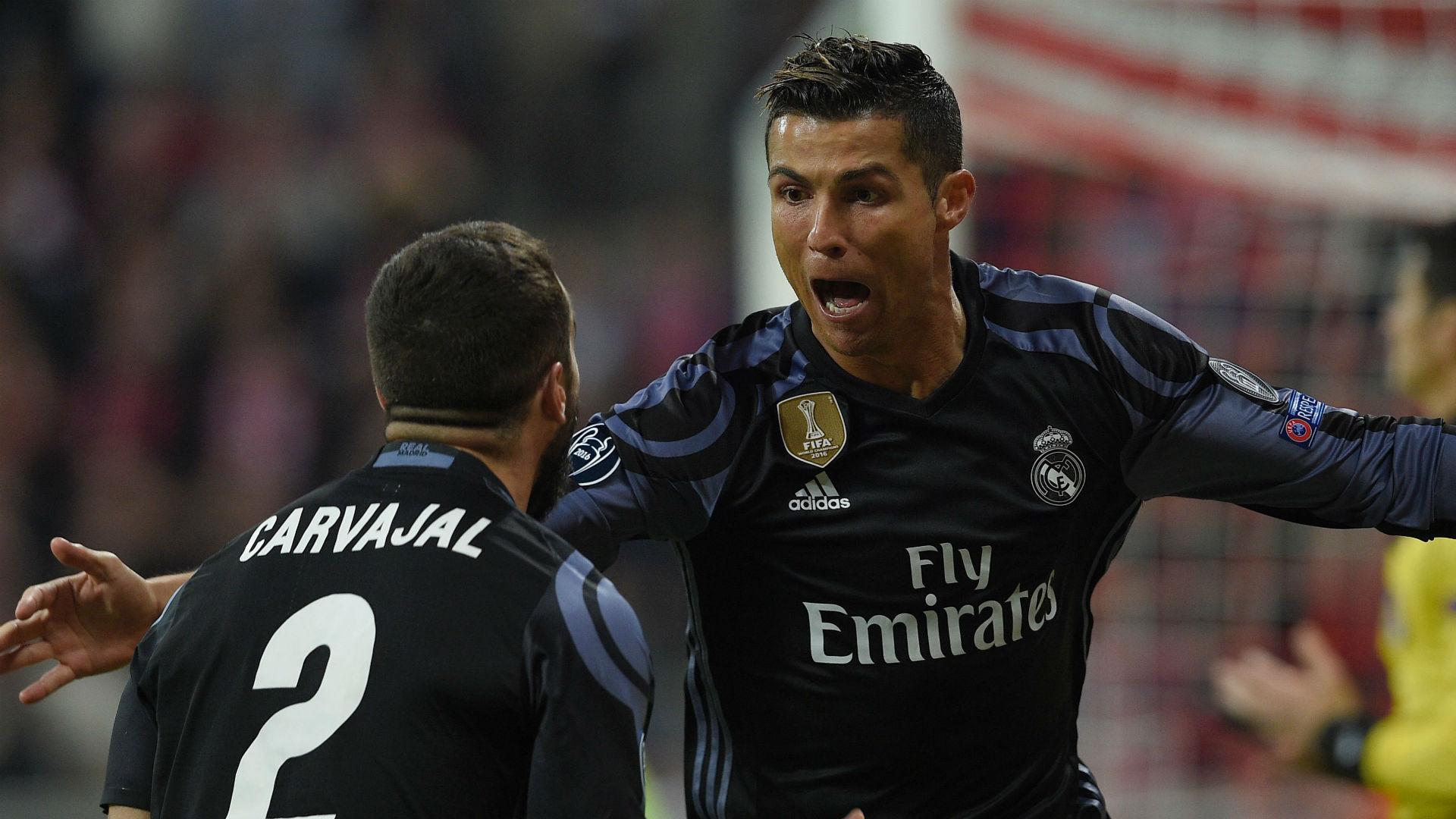 Carvajal Cristiano Ronaldo Real Madrid