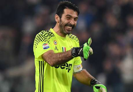 Buffon & Dzeko star in best Serie A XI