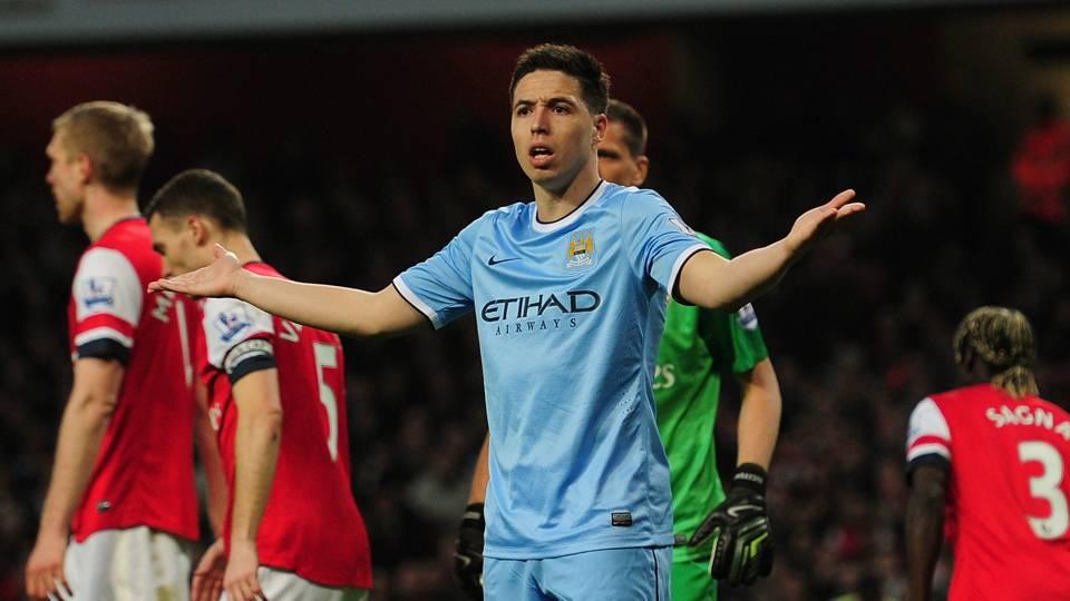 Samir Nasri Man City Arsenal