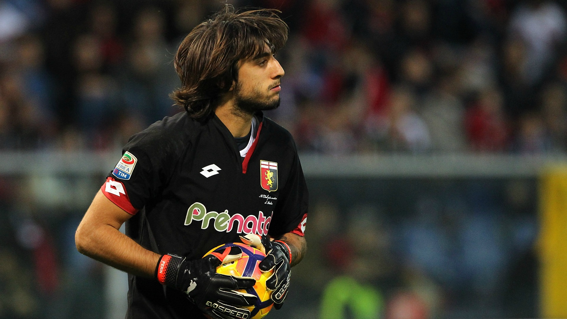 Perin in lacrime dopo l'infortunio