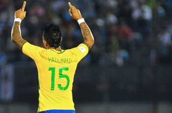 WATCH: Paulinho hits screamer for Brazil vs. Uruguay