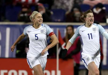 England women top USA