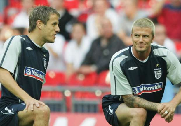 Image result for Beckham expected fellow Man Utd 'Class of 92' graduate Phil Neville to take to coaching more than Gary