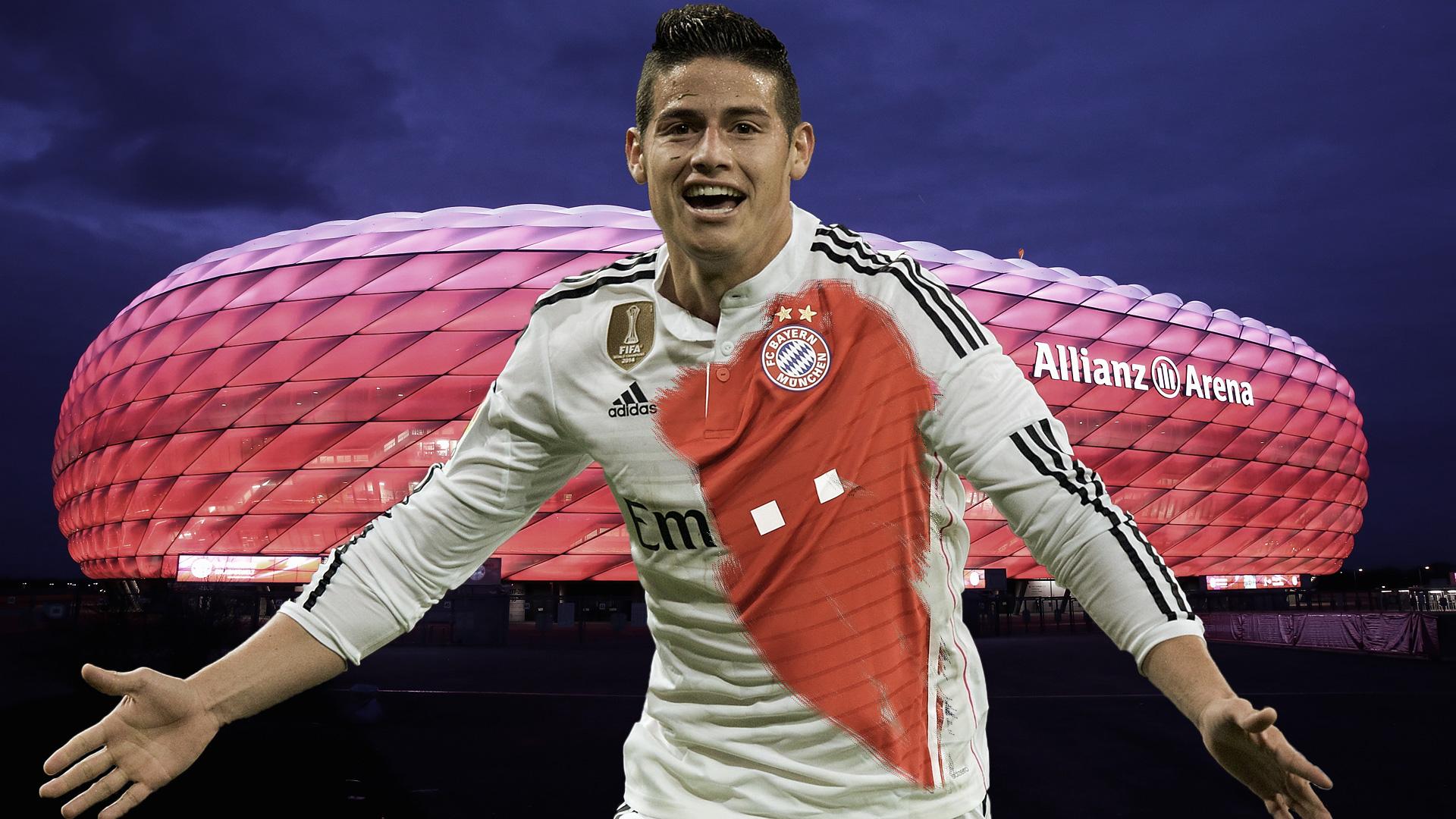 GFX James Rodriguez Bayern München 11072017