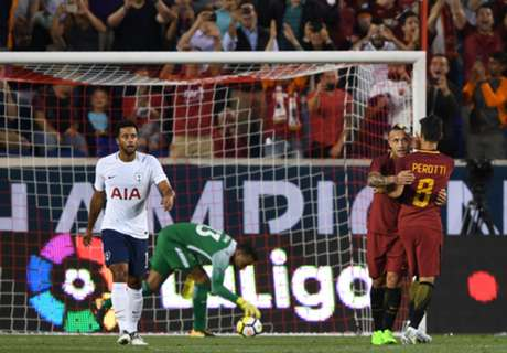 FT: Tottenham 2-3 AS Roma
