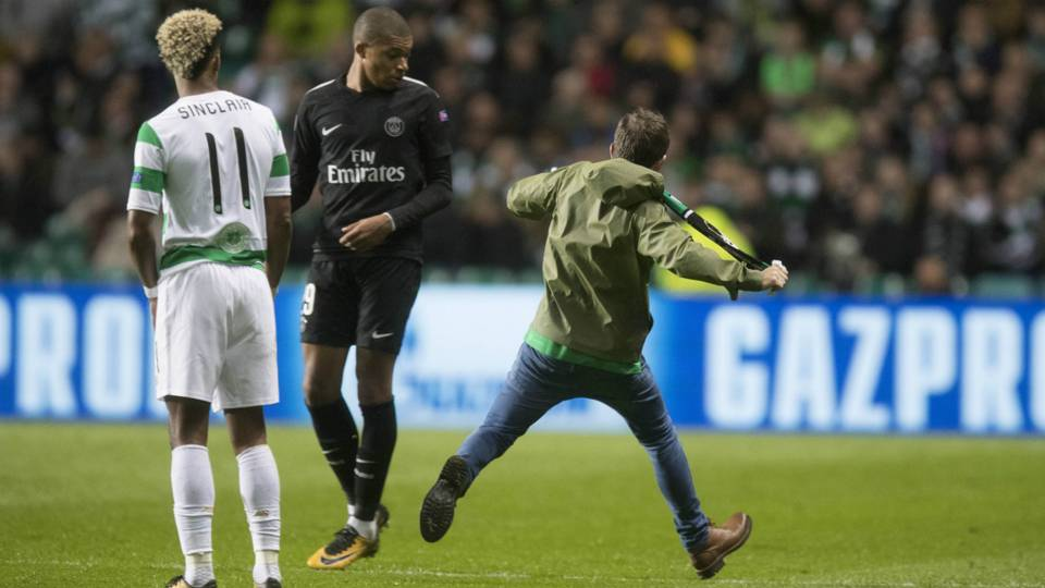 Kylian Mbappe Celtic fan