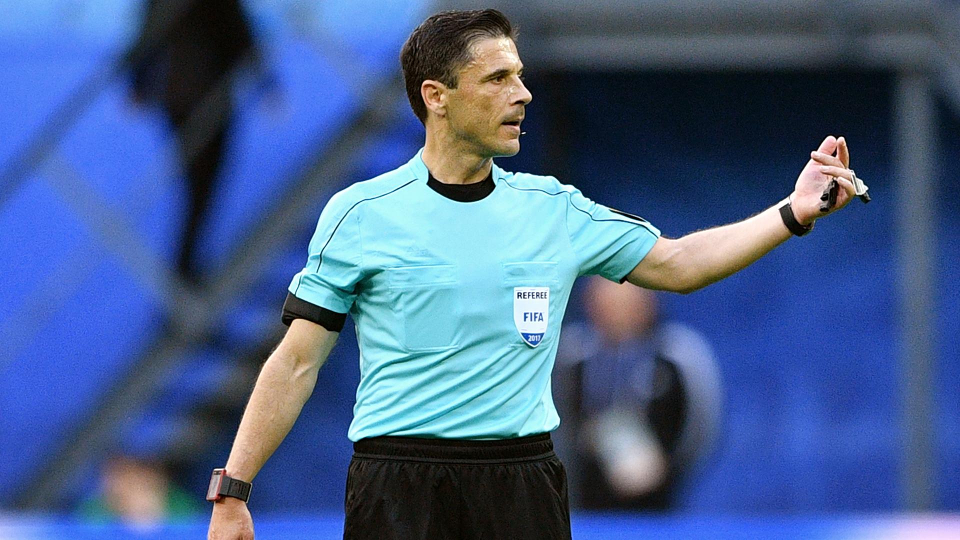Los árbitros para Chile-Alemania serán todos europeos