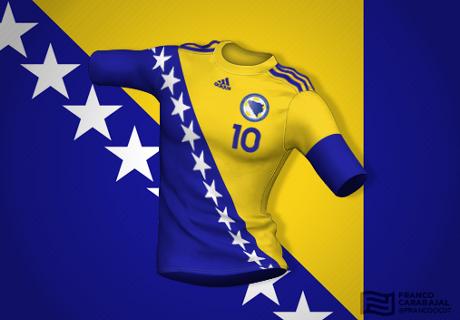 Galerija: Kad bi dresovi bili preslika državnih zastava...