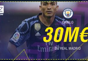 """<p><font color=""""#009966"""" size=""""3""""><b>Danilo</b></font></p> <p><em>Défenseur l 26 ans </em></p> <p><span style=""""font-size:medium;""""><strong><em><font color=""""#009966""""><font size=""""3"""">Real Madrid </font></font></em><span style=""""color:#ff9933;"""">&mda..."""