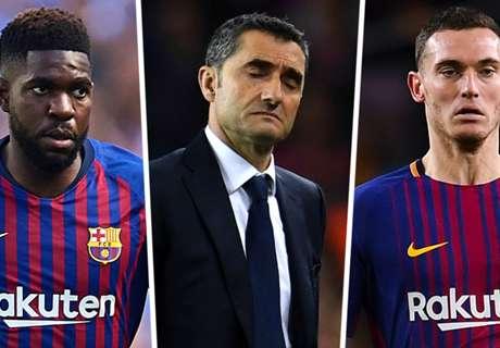 Vermaelen leaves Barca facing injury crisis ahead of Clasico