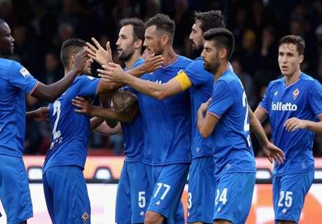Benevento a 0, la Fiorentina fa tris