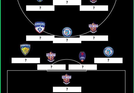 ISL 2017-18 Team of the Round 15